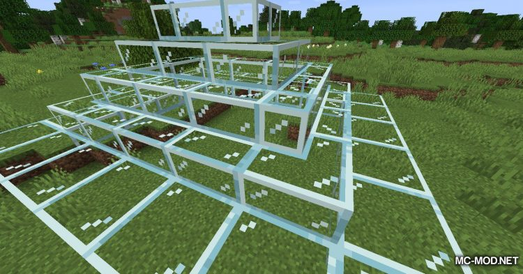 Mo Glass mod for Minecraft (10)