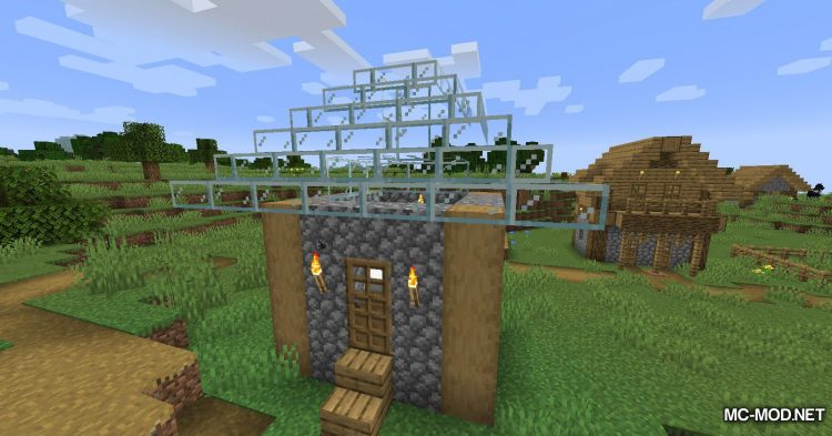 Mo Glass mod for Minecraft (12)