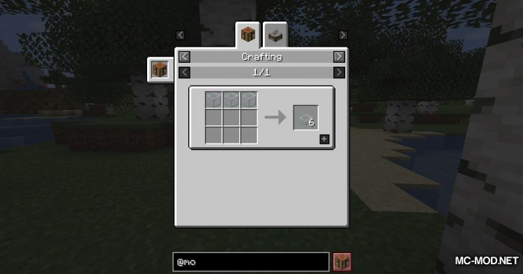 Mo Glass mod for Minecraft (3)