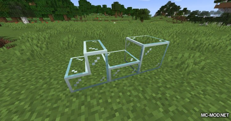 Mo Glass mod for Minecraft (5)