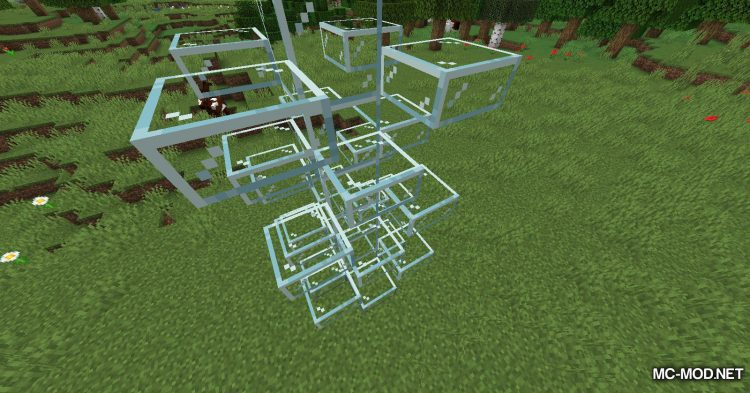 Mo Glass mod for Minecraft (8)