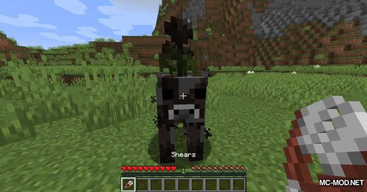 Mooblooms mod for Minecraft (14)