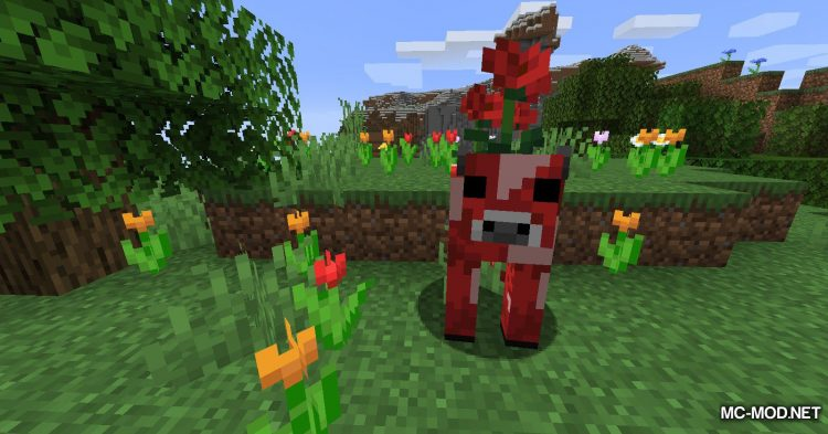 Mooblooms mod for Minecraft (3)