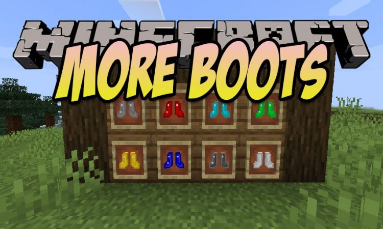 More Boots mod for Minecraft logo