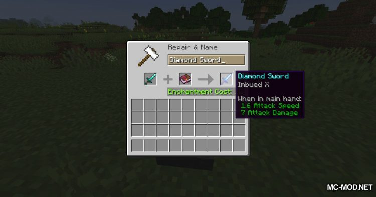 More Enchantments mod for Minecraft (13)