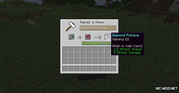 More Enchantments mod for Minecraft (2)