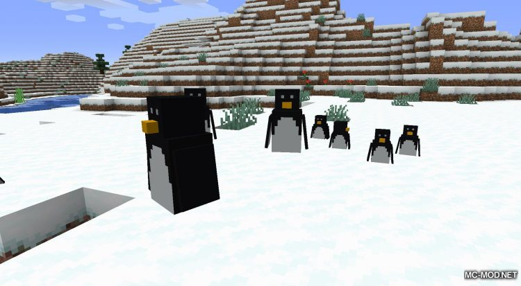 More Living Things mod for Minecraft (12)