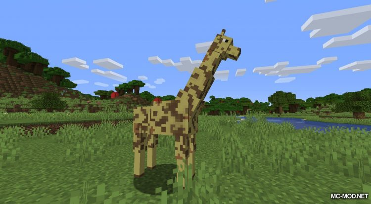 More Living Things mod for Minecraft (2)