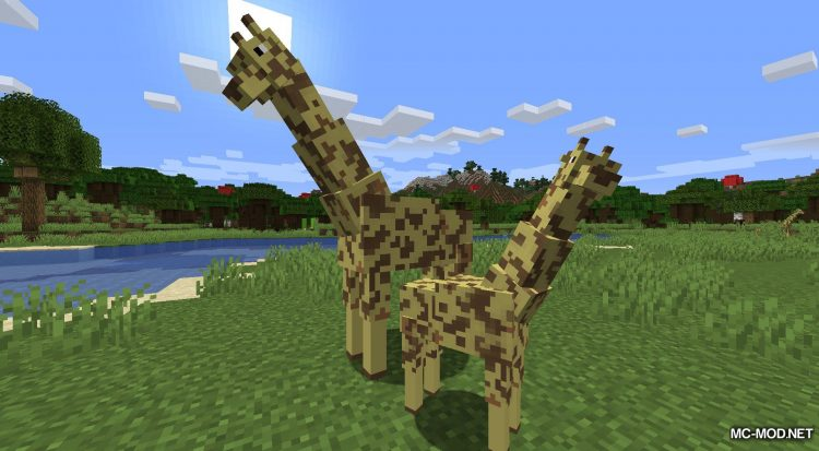 More Living Things mod for Minecraft (3)