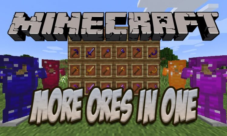 More Ores in ONE mod for Minecraft logo