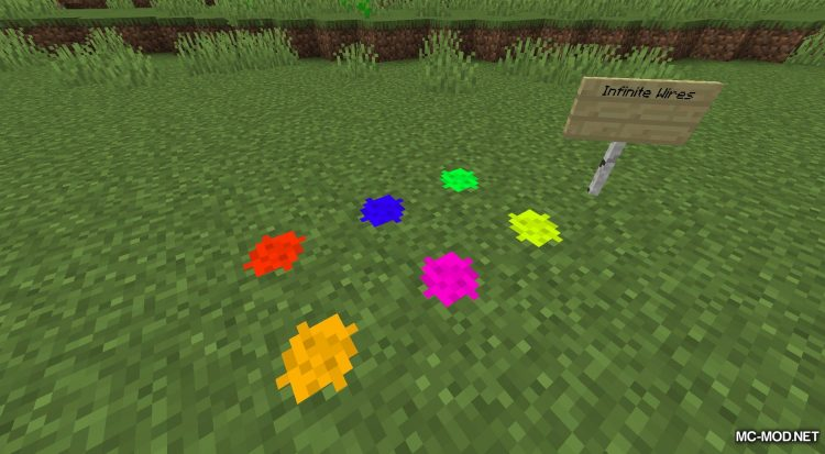 More Wires mod for Minecraft (11)