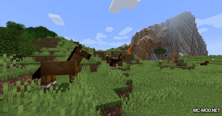 Mounted Pearl mod for Minecraft (2)