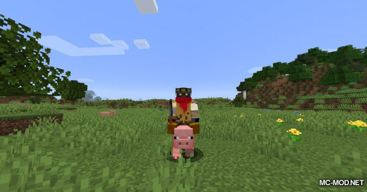 Mounted Pearl mod for Minecraft (7)