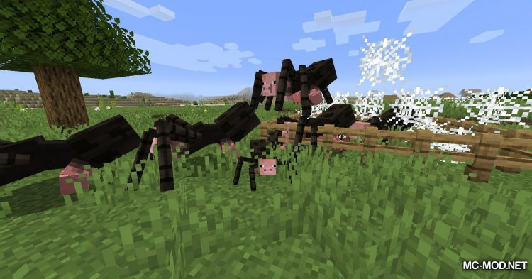 Mutant Beasts mod for Minecraft (13)