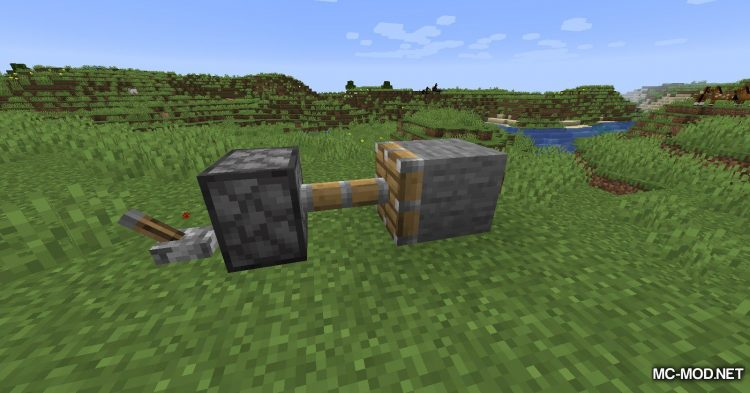 Mute Pistons mod for Minecraft (4)