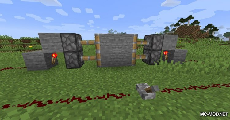 Mute Pistons mod for Minecraft (8)