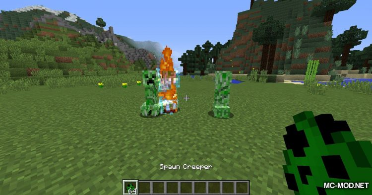Naturally Charged Creepers mod for Minecraft (6)
