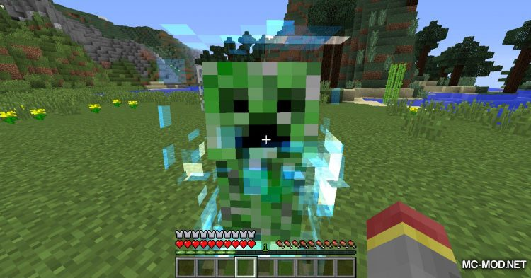 Naturally Charged Creepers mod for Minecraft (9)