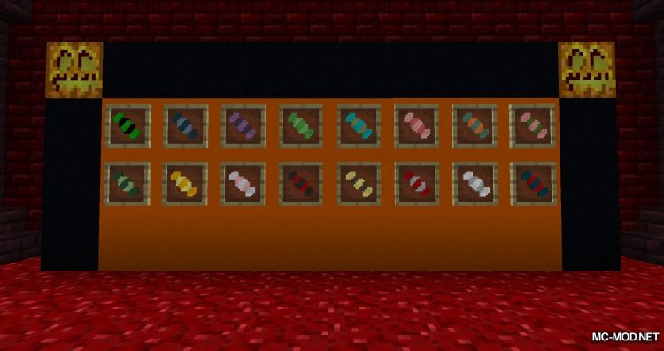 Never Enough Candy mod for Minecraft (12)