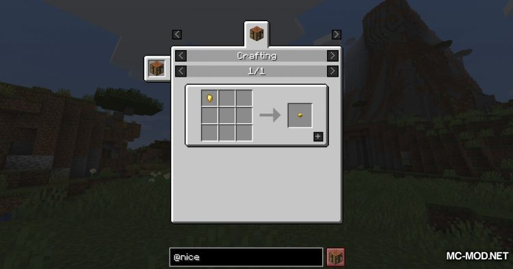 Nice To Have mod for Minecraft (3)