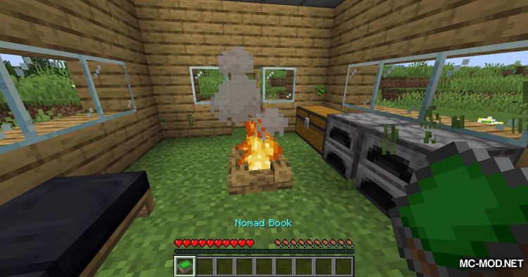Nomad Books mod for Minecraft (8)