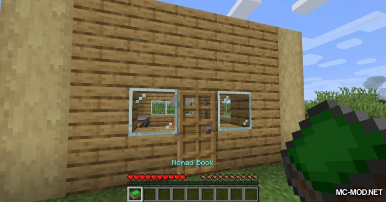 Nomad Books mod for Minecraft (9)