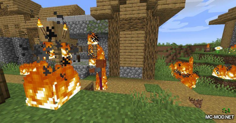 Realistic Fire Spread mod for Minecraft (11)