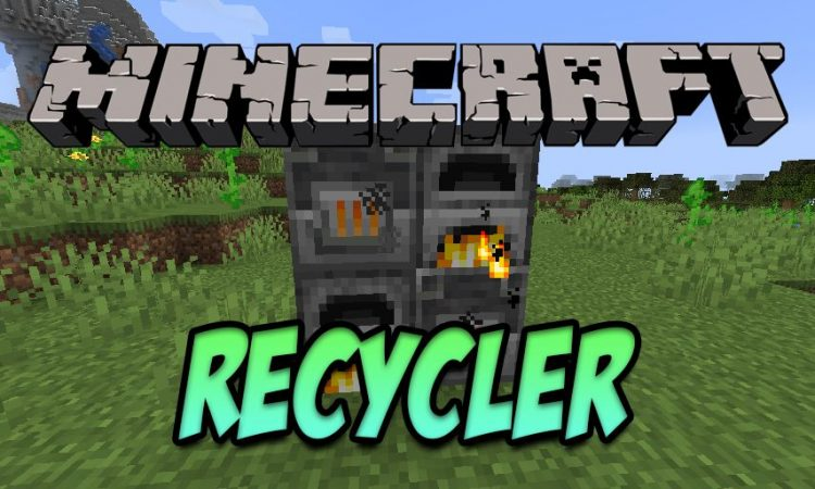 Recycler mod for Minecraft logo