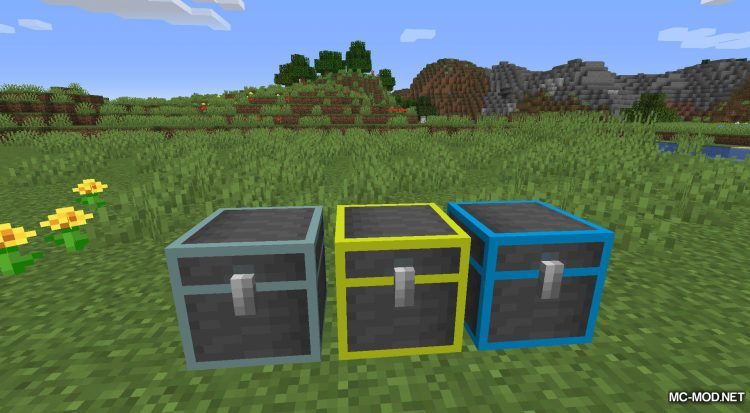 Repair Chests mod for Minecraft (16)