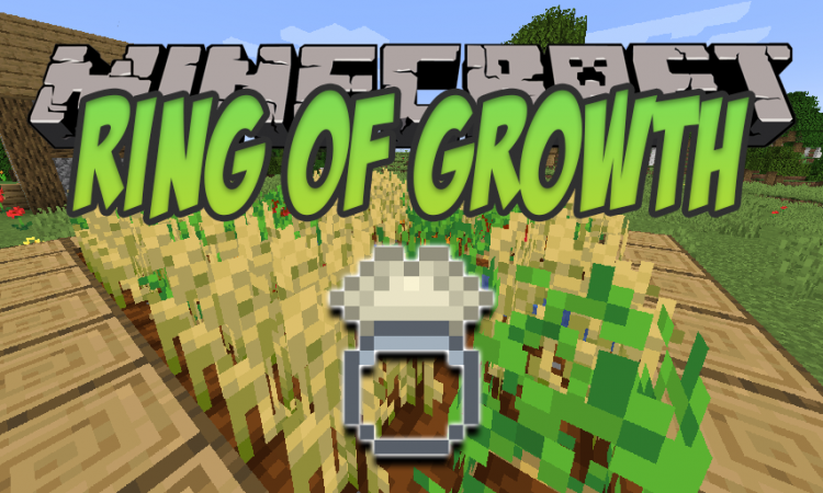 Ring of Growth mod for Minecraft logo