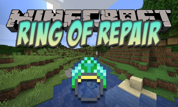 Ring of Repair mod for Minecraft logo