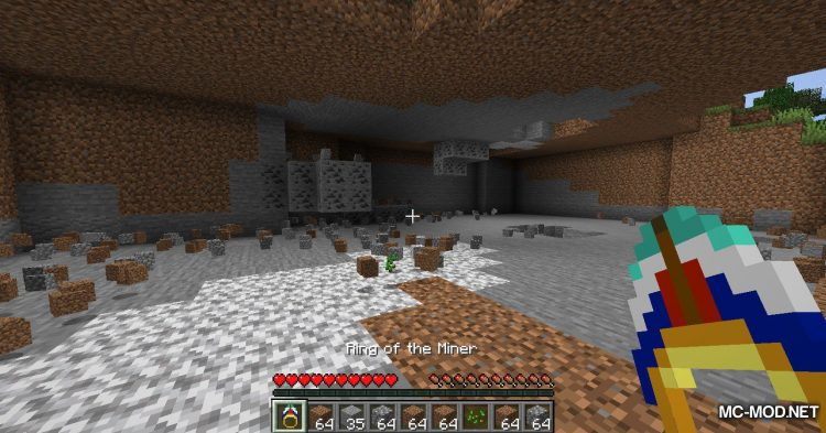 Ring of the Miner mod for Minecraft (11)