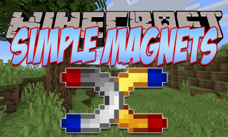 Simple Magnets mod for Minecraft logo