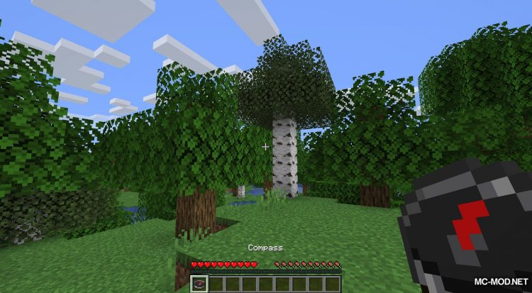 Stronghold Compass mod for Minecraft (4)