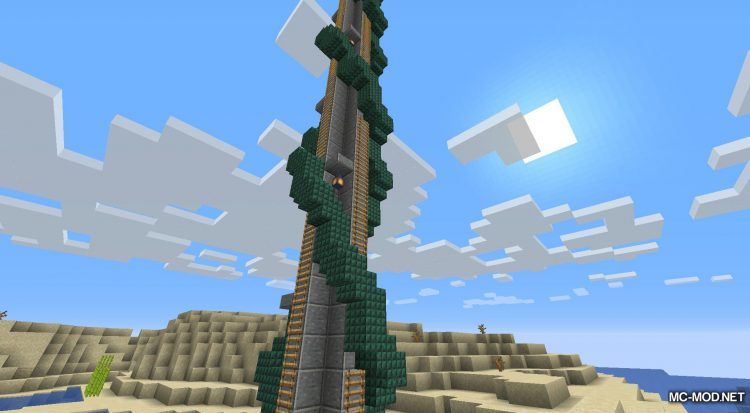 Tower Of The Wild mod for Minecraft (5)