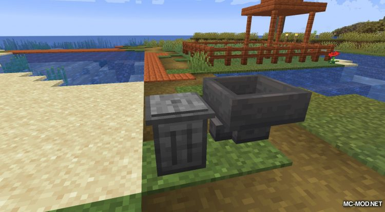 Trash Cans mod for Minecraft (7)