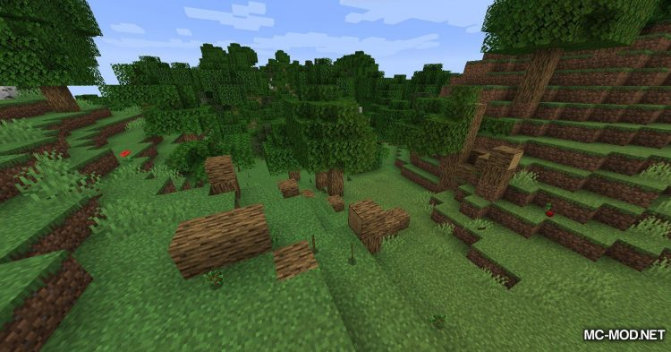 Trees Do Not Float mod for Minecraft (10)