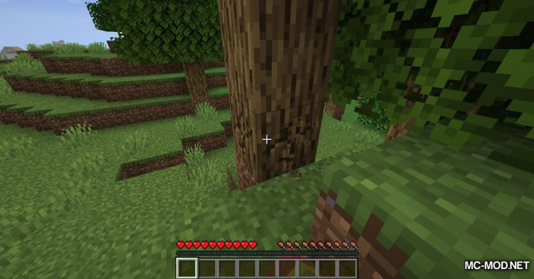 Trees Do Not Float mod for Minecraft (3)