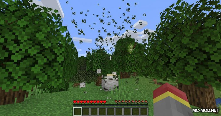 Trees Do Not Float mod for Minecraft (7)