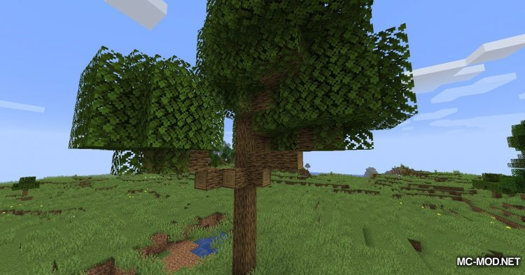 Trees Do Not Float mod for Minecraft (8)