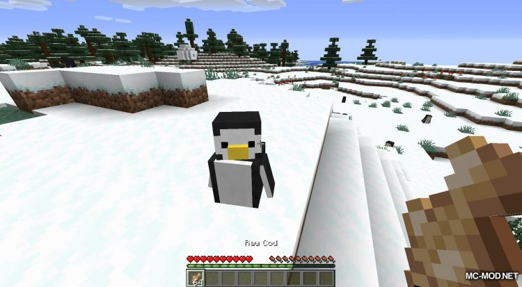 Tux mod for Minecraft (5)