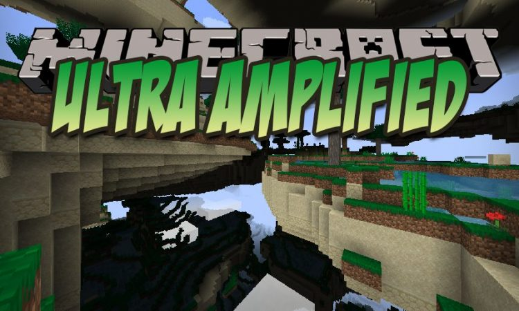 Ultra Amplified mod for Minecraft logo