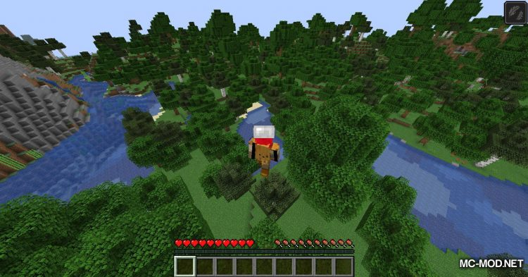 Useful Hats mod for Minecraft (10)