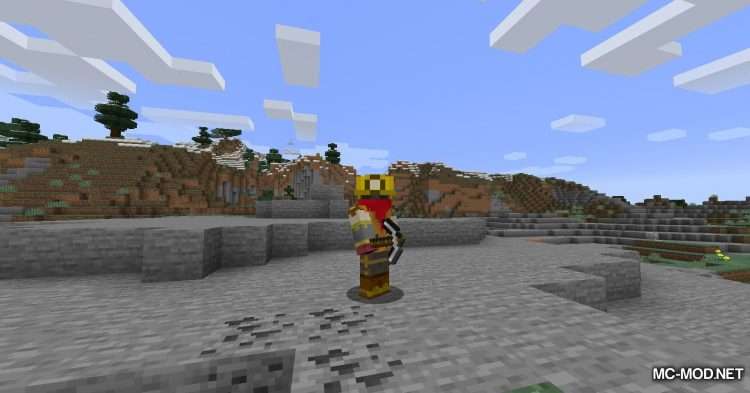 Useful Hats mod for Minecraft (7)