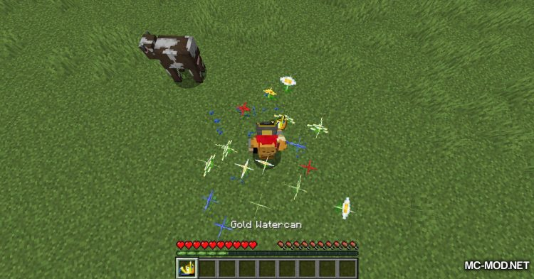 Watercan mod for Minecraft (11)