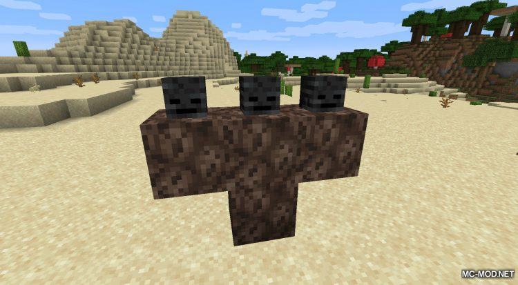 Wither Hoe Mod mod for Minecraft (1)